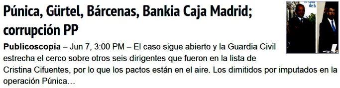leyenda negra Bárcenas Rajoy corrupción el PP