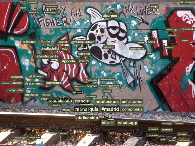 #graffiti Wofe #streetart Hegos #trainsong