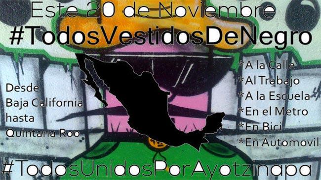 #Ayotzinapa #México #20N